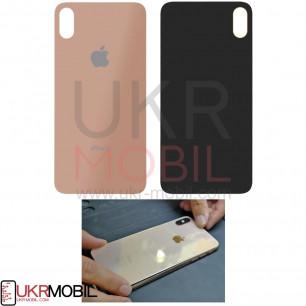 Задняя крышка Apple iPhone XS, для замены без разборки корпуса, Gold