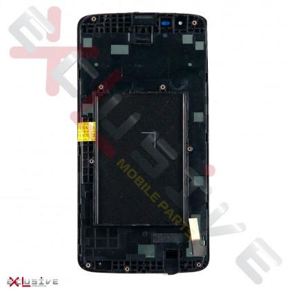 Дисплей LG K7, MS330 K7, Tribute 5 LS675 с тачскрином, Black, фото № 2 - ukr-mobil.com