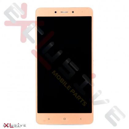 Дисплей Xiaomi Redmi Note 4 с тачскрином Gold, фото № 1 - ukr-mobil.com
