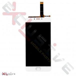 Дисплей Meizu U20 U685H, с тачскрином, White