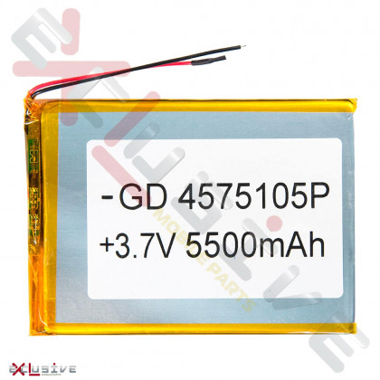 Аккумулятор для планшета 4.5*75*105 мм, (5500 mAh), фото № 1 - ukr-mobil.com