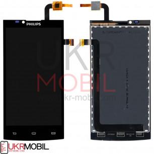 Дисплей Philips S398, с тачскрином, Black