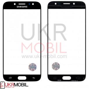 Стекло дисплея Samsung J730 Galaxy J7 2017, Black