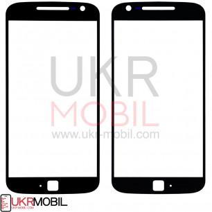 Стекло дисплея Motorola Moto G4 Plus XT1642, Black