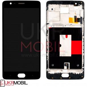 Дисплей OnePlus 3 (A3003), OnePlus 3T (A3010), с тачскрином, OLED, Black
