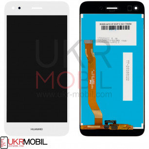 Дисплей Huawei Nova Lite 2017, P9 Lite mini, Y6 Pro 2017, Enjoy 7 (SLA-L02, SLA-L22, SLA-L03), с тачскрином, High Copy, White