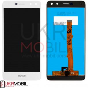 Дисплей Huawei Y5 2017 (MYA-U29), Y6 2017, Honor 6 Play, Nova Young 4G (MYA-L11), с тачскрином, High Copy, White