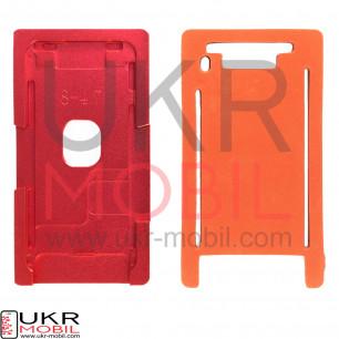 Позиционная форма дисплея при склейке c стеклом + рамкой iPhone 8 (для вакуумных машин)