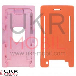 Позиционная форма дисплея при склейке c стеклом + рамкой iPhone 6, 6S (для вакуумных машин)