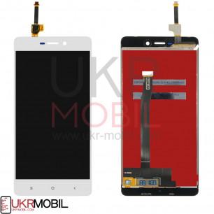 Дисплей Xiaomi Redmi 3, Redmi 3S, Redmi 3X, Redmi 3 Pro, с тачскрином, White