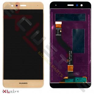 Дисплей Huawei P10 Lite (WAS-L21, WAS-LX1, WAS-LX1A), с тачскрином, Original PRC, Gold