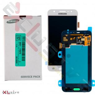 Дисплей Samsung J500 Galaxy J5 2015 GH97-19466A (SERVICE PACK) с тачскрином White