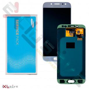 Дисплей Samsung J530 Galaxy J5 Pro 2017 GH97-20738B (SERVICE PACK ORIGINAL) с тачскрином Blue