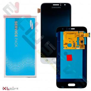 Дисплей Samsung J120 Galaxy J1 2016 (SERVICE PACK ORIGINAL)  с тачскрином White