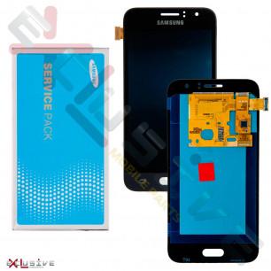 Дисплей Samsung J120 Galaxy J1 2016 GH97-19005C (SERVICE PACK ORIGINAL)  с тачскрином Black