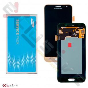 Дисплей Samsung J320F Galaxy J3 GH97-18414B (SERVICE PACK ORIGINAL)  с тачскрином Gold