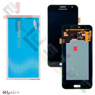Дисплей Samsung J320F Galaxy J3 GH97-18414C (SERVICE PACK ORIGINAL)  с тачскрином Black