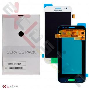 Дисплей Samsung J200 | J200H Galaxy J2 duos GH97-17940A (SERVICE PACK ORIGINAL) с тачскрином White