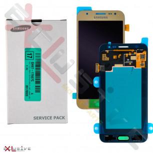 Дисплей Samsung J500 Galaxy J5 2015 GH97-19466B (SERVICE PACK) с тачскрином Gold