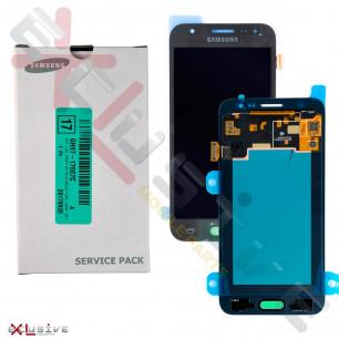 Дисплей Samsung J500 Galaxy J5 2015 GH97-19466C (SERVICE PACK) с тачскрином Black