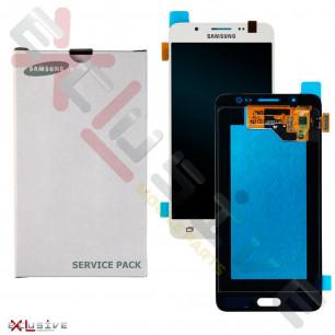 Дисплей Samsung J510 Galaxy J5 2016, GH97-19466C, с тачскрином, Service Pack Original, White
