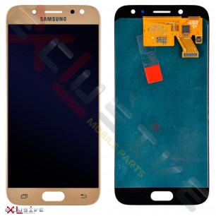 Дисплей Samsung J530 Galaxy J5 Pro 2017, с тачскрином, OLED, Gold