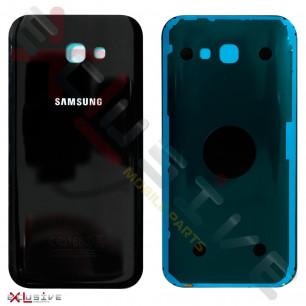 Корпус Samsung A720 Galaxy A7 2017 задняя кришка (high copy) Black