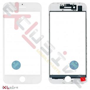Стекло дисплея с рамкой и пленкой OCA Apple iPhone 7, Original, White