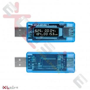 Амперметр-вольтметр USB, Keweisi KWS-V21