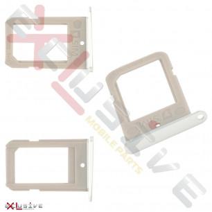 Держатель SIM-карты Samsung G925F Galaxy S6 Edge, White