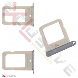 Держатель SIM-карты Samsung G925F Galaxy S6 Edge, Silver