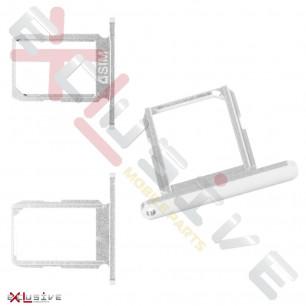 Держатель SIM-карты Samsung G920F Galaxy S6, White