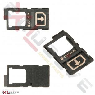 Держатель SIM-карты Sony E6553 Xperia Z3+, E6603 Xperia Z5, E6653 Xperia Z5, E6853 Xperia Z5+ Premium, Xperia Z4