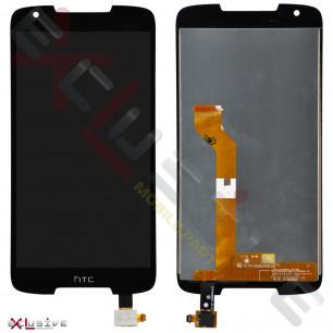 Дисплей HTC Desire 828, с тачскрином, Black