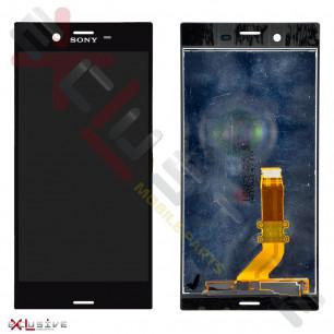 Дисплей Sony F8331, F8332 Xperia XZ, с тачскрином, Original PRC, Black