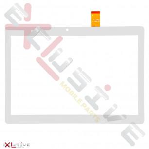 Сенсор (тачскрин) Bravis NB106 3G, NB107, p/n: DH-1079A1, 237mm*137mm, White