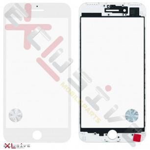 Стекло дисплея с рамкой и пленкой OCA Apple iPhone 7 Plus, Original, White