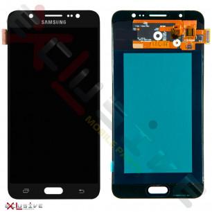 Дисплей Samsung J710F Galaxy J7, J710H Galaxy J7 2016, TFT, с тачскрином, Black