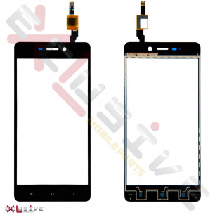 Сенсор (тачскрин) Xiaomi Redmi 4, Black