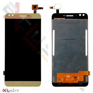 Дисплей Prestigio MultiPhone 3504 Muze C3 с тачскрином, Gold