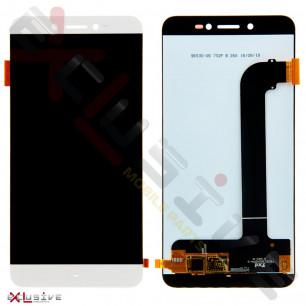 Дисплей Prestigio MultiPhone Grace Z5 5530 Duo, Grace Z3 3533, с тачскрином, White