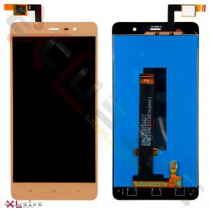 Дисплей Xiaomi Redmi Note 3 Pro Special Edition с тачскрином Gold
