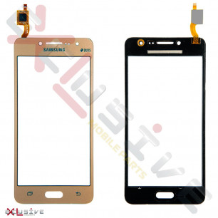 Сенсор (тачскрин) Samsung G532 Galaxy J2 Prime, Gold