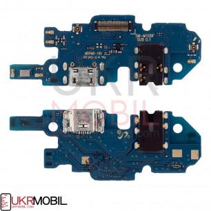 Шлейф Samsung M105 Galaxy M10, с разъемом зарядки, гарнитуры, Original