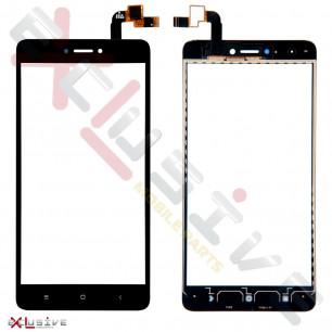 Сенсор (тачскрин) Xiaomi Redmi Note 4x, High Copy, Black