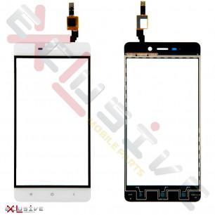Сенсор (тачскрин) Xiaomi Redmi 4 White