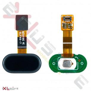 Шлейф Meizu M5 M611, M5s, с кнопкой Home, Black, Original