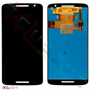 Дисплей Motorola XT1562 Moto X Play, XT1563 X Play, с тачскрином, Original PRC, Black