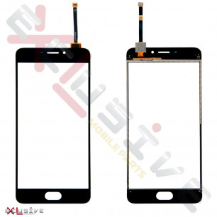 Сенсор (тачскрин) Meizu M5 Note M621, High Copy, Black