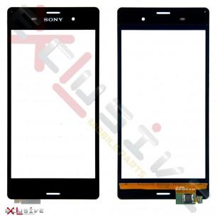 Сенсор (тачскрин) Sony D6603 Xperia Z3, D6633 Xperia Z3 DS, D6643 Xperia Z3, D6653 Xperia Z3, Black